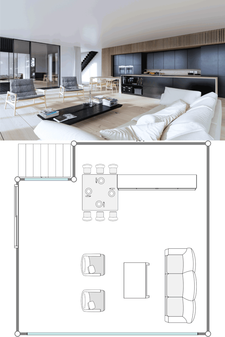 Modern interior living room, 20X20 Living Room Layout Ideas