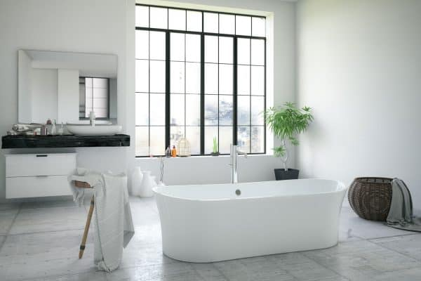 How Big Is A Bathtub? [A Breakdown Of Standard Dimensions]