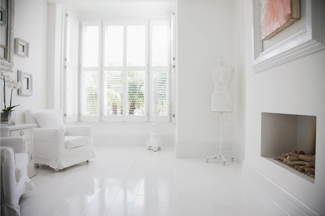 White Room With Picture Window