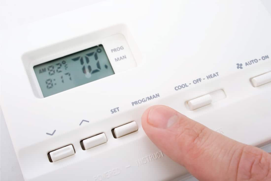 electronic climate control device all white. Furnace Won't Reach Set Temperature - What To Do