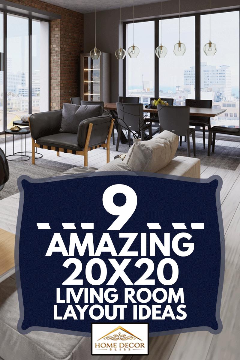 Modern vintage loft apartment living room, 9 Amazing 20X20 Living Room Layout Ideas