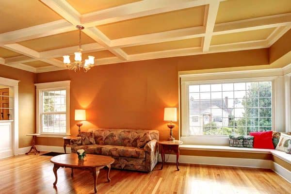 How Deep Should A Coffered Ceiling Be?