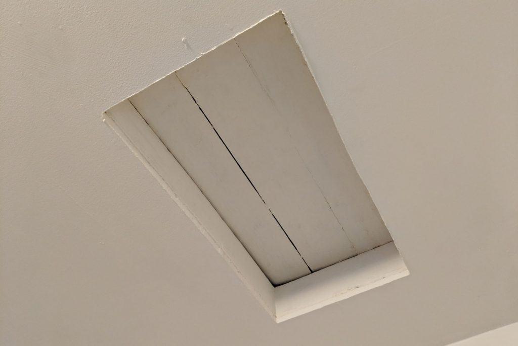 An attic access