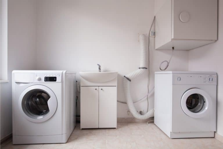 Automatic washing machines in laundry. Should A Laundry Room Have A Sink [And How To Add One!]