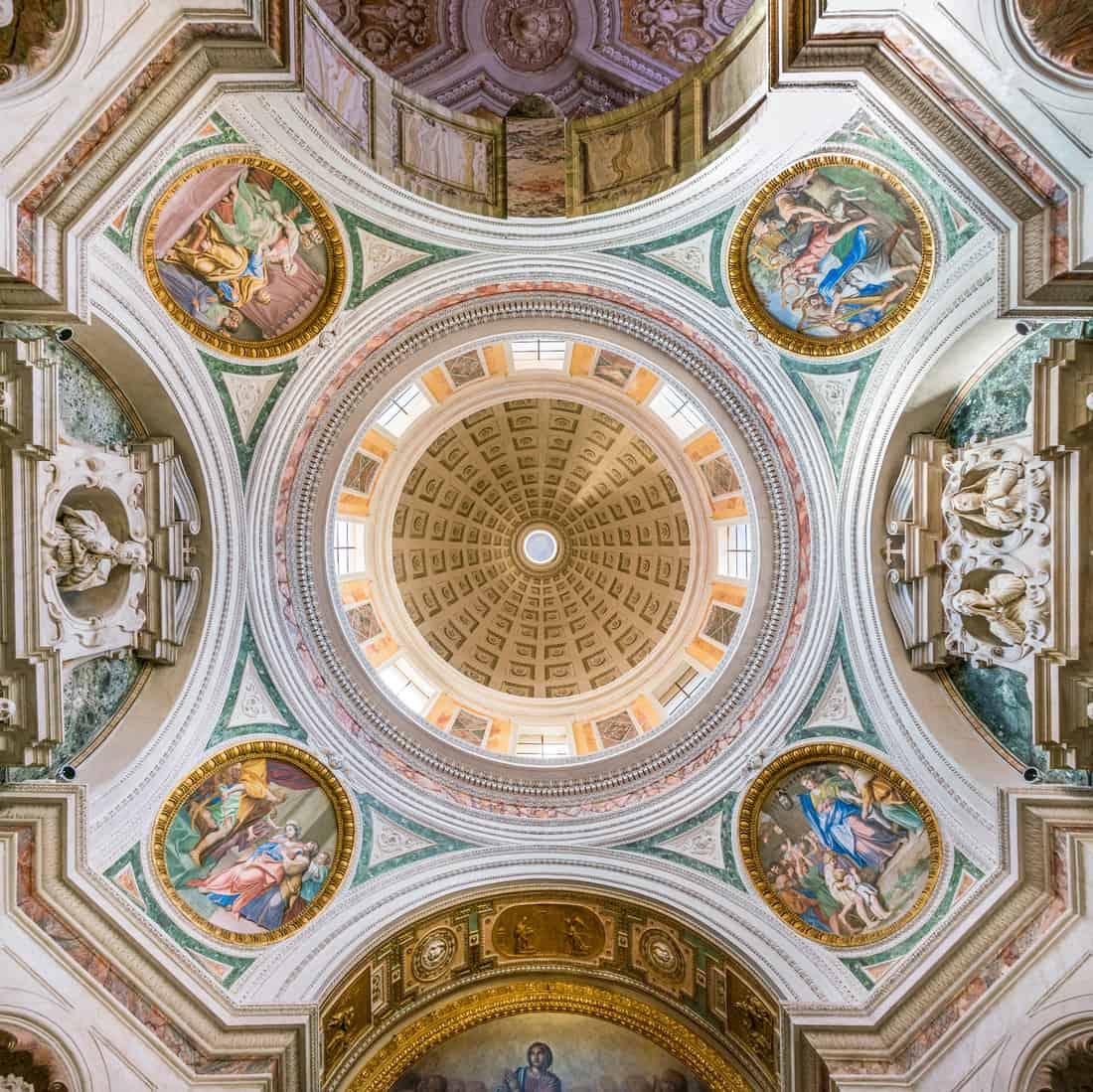 Bandini Chapel in the Church of San Silvestro al Quirinale