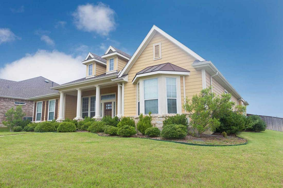 Beautiful newly constructed home with landscaped yard