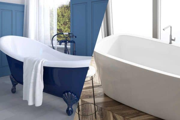 Porcelain Vs Acrylic Tubs – Which To Choose?