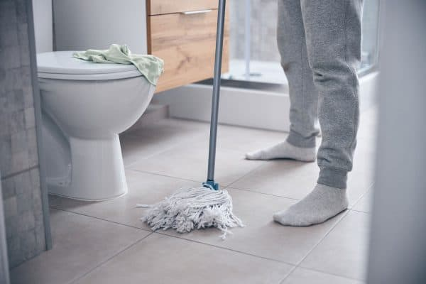 How Often Should You Mop The Bathroom Floor?