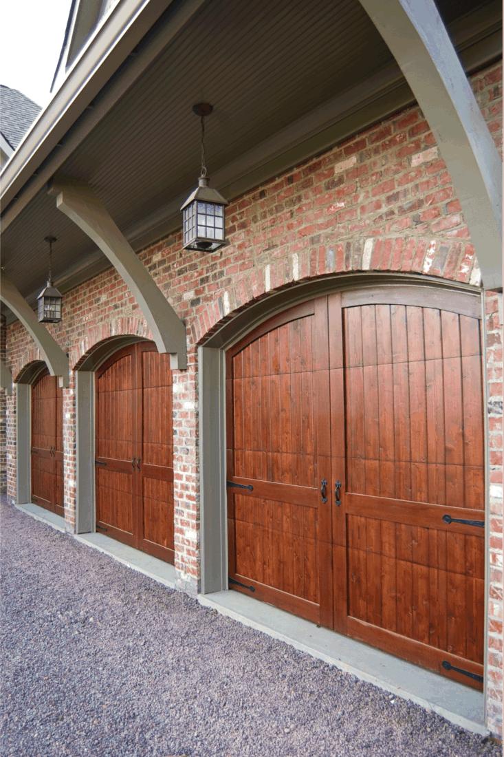 Custom Garage Doors. classic wood stable doors