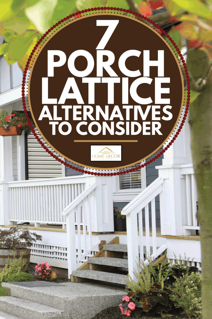 Friendly neighborhood with porches on all houses. 7 Porch Lattice Alternatives To Consider