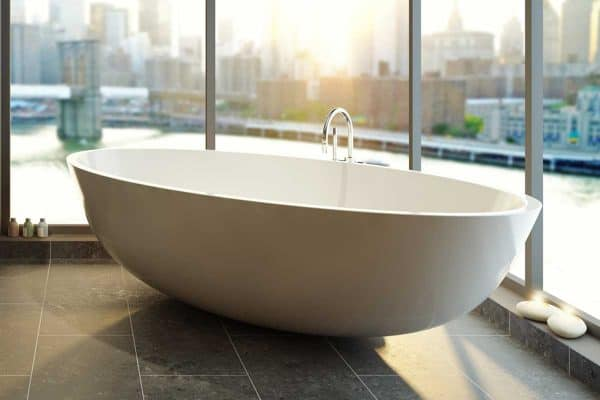 How Much Does An Acrylic Bathtub Weigh?