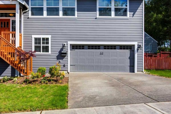 What Color Garage Door Goes With A Gray House?