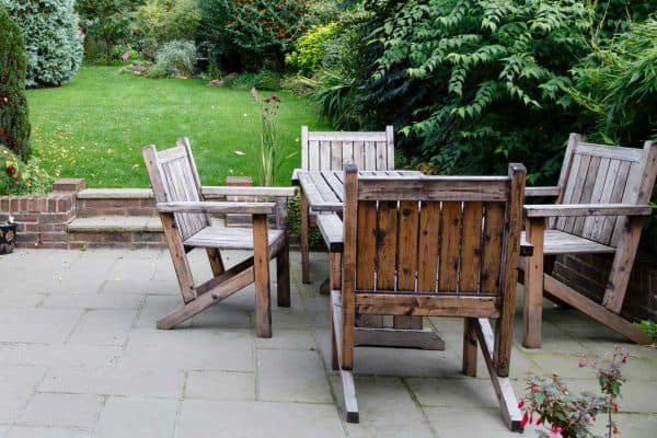 How To Restore Outdoor Wood Furniture In 4 Easy Steps
