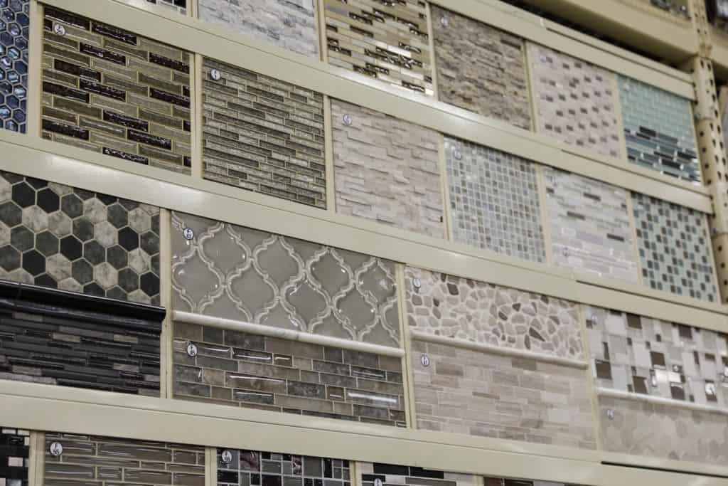 Samples of tiles view
