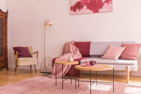 27 Awesome Pink Living Room Ideas
