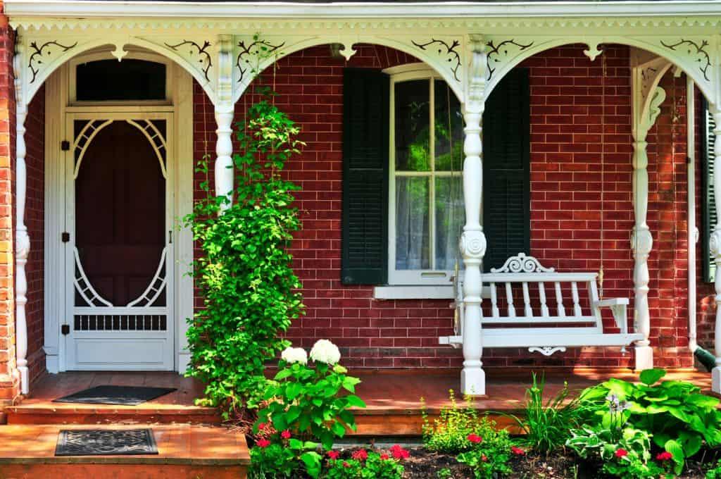 Victorian House porch