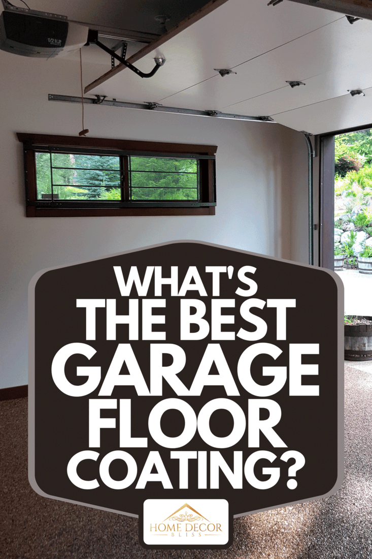 Inside of well maintained and modern garage, What's The Best Garage Floor Coating?