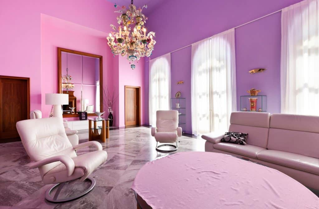 interior, villa in style classic, modern living room