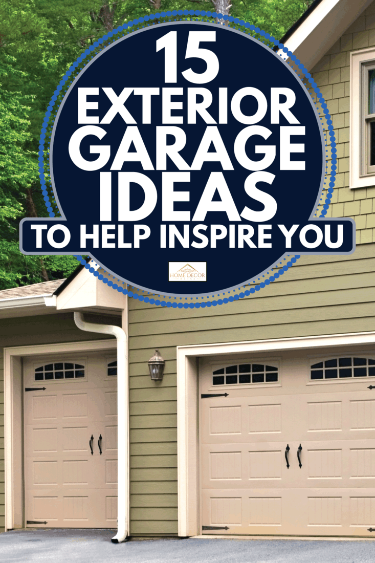 15 Exterior Garage Ideas To Help, Garage Wall Ideas Outside