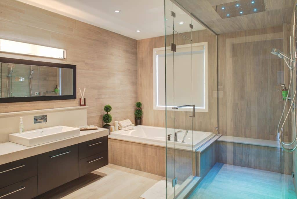residential modern bathroom