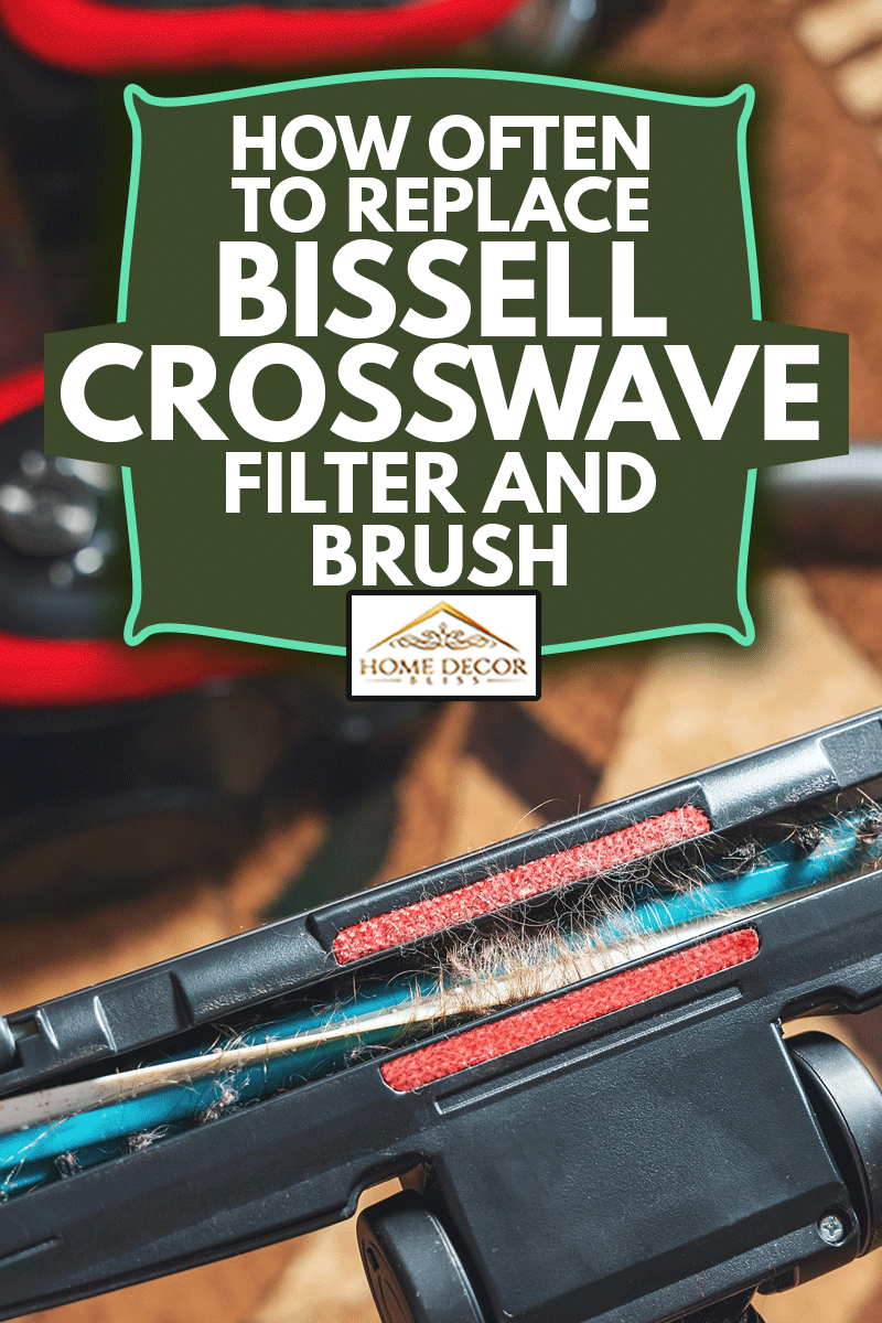 Cleaning the room, long hair wrapped around a vacuum cleaner's turbo brush, How Often To Replace Bissell Crosswave Filter And Brush