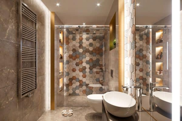 Read more about the article How To Grout Bathroom Backsplash [With Tips On What Style To Choose]