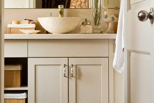 Should You Paint Inside Bathroom Cabinets?