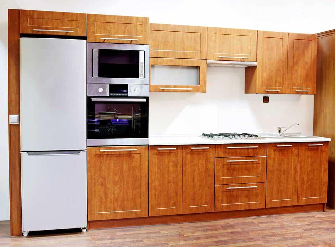 New home kitchen interior