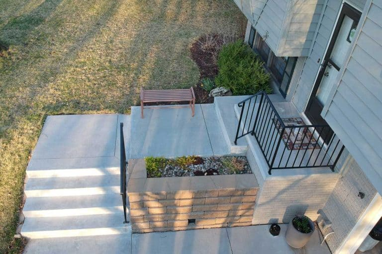 Remodeled front entry of a split level home, Can You Add On To A Split-Level Home?