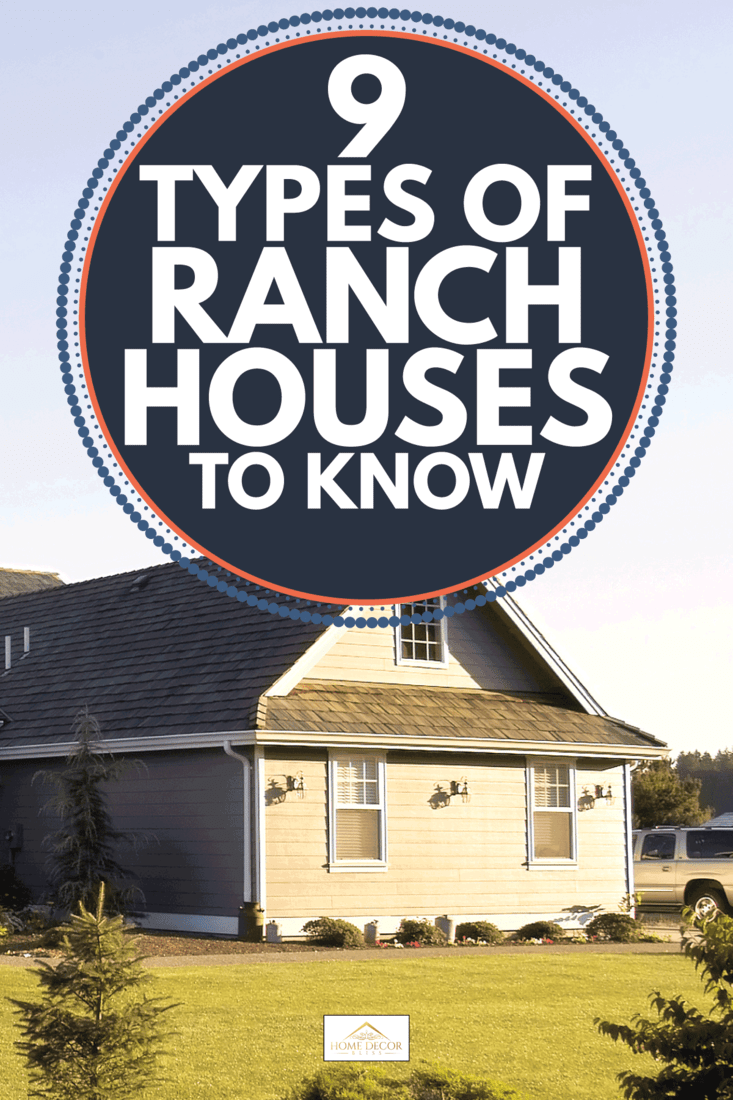 modern country home at sunset. 9 Types Of Ranch Houses To Know