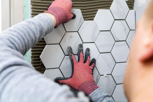Read more about the article Can You Tile Without Grout? [And Here's How]