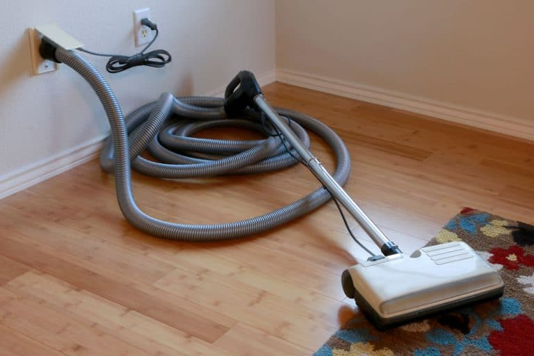 A central vacuum hose attached to the central vacuum system, What Is The Longest Central Vacuum Hose?