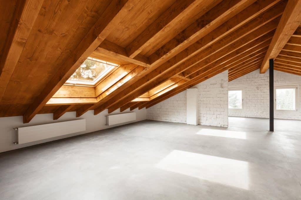 Architecture interiors, modern house