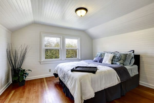 Read more about the article 11 Gorgeous Sloped Ceiling Bedroom Ideas