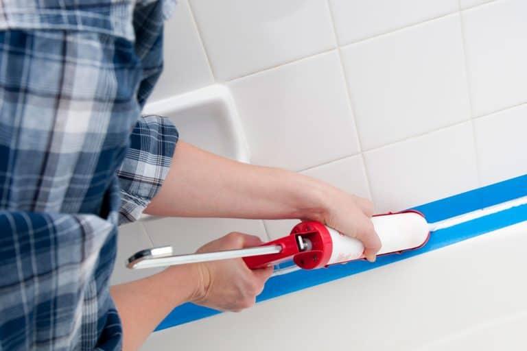 Caulking the bathroom tile, Bathroom Caulk Not Drying - What To Do?