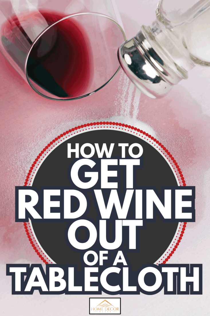 Red wine stains. glass of red wine and salt. How To Get Red Wine Out Of A Tablecloth