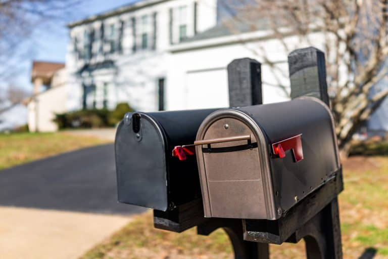 Two black colored mailboxes, 25 Great Mailbox Ideas To Check Out