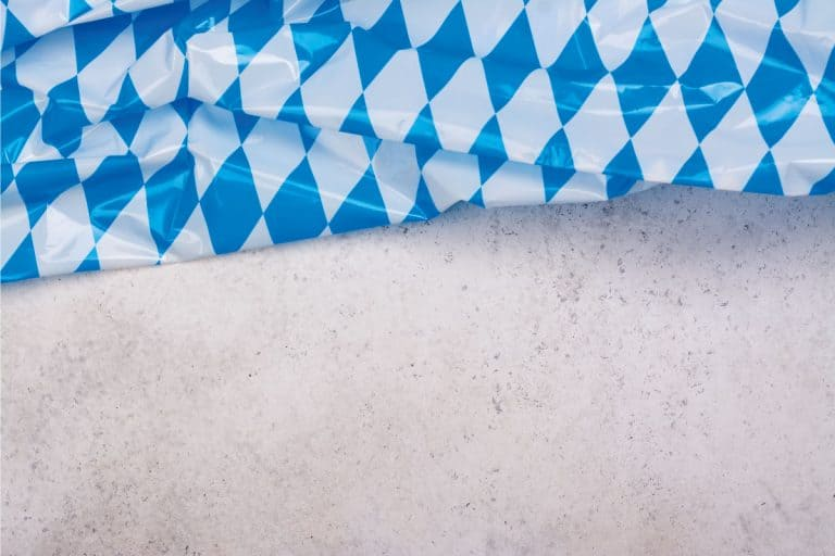 Bavarian blue and white plastic tablecloth. How To Get Creases Out Of Plastic Tablecloth