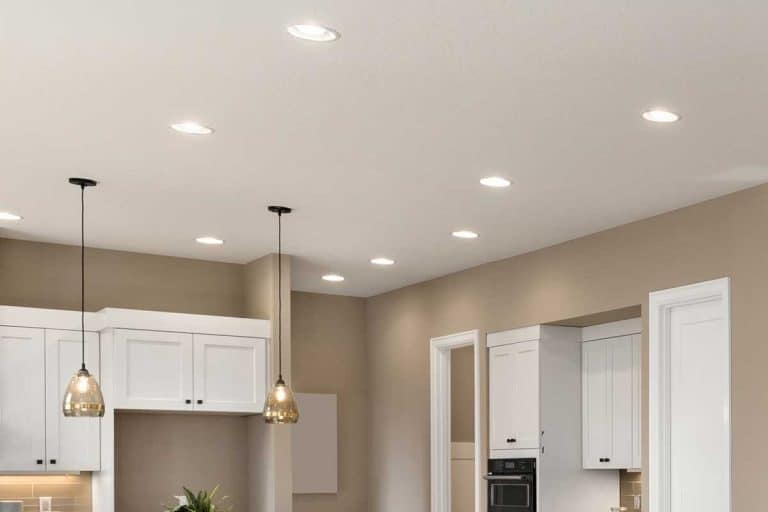 Beautiful living room interior with recessed lighting, Should Recessed Lighting Be Symmetrical?