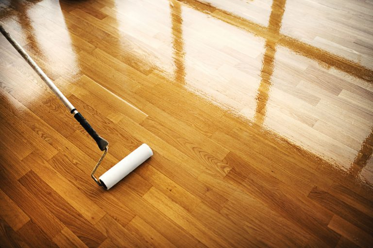Cleaning and restoring the hardwood flooring of the living room, Can You Use Bona Hardwood Floor Cleaner On Laminate, Vinyl, And Tile?