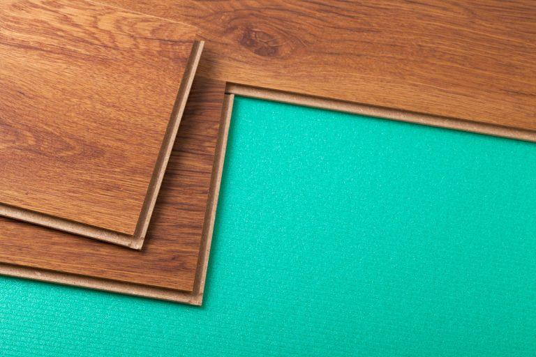 Cyan colored cork underlayment for the wooden flooring, Does A Hardwood Floor Need Underlayment Or Subfloor?