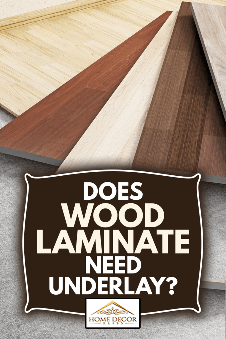 Parquet choices on the ground. Wood floor installation concept, Does Wood Laminate Need Underlay?
