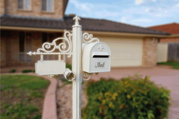 Read more about the article Should You Paint Your Mailbox Post? [And How To]