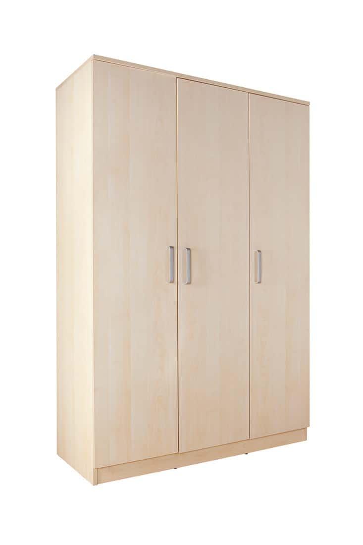 birch wood wardrobe