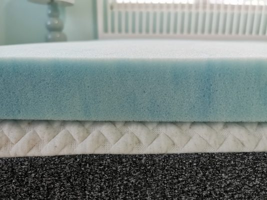 Read more about the article Sure2Sleep Gel Swirl Memory Foam Mattress Topper Review