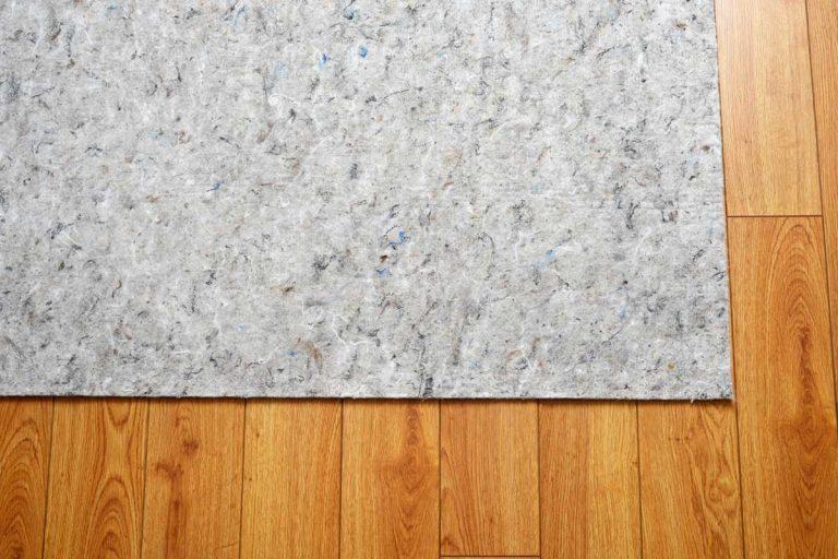 Carpet rug on hardwood floor, How To Get Carpet Protector Off Laminate Or Wood Floor