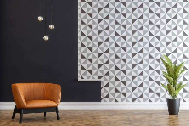 Glueing Wallpapers with Armchair, Should You Wallpaper A Whole Room Or Just An Accent Wall?