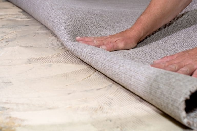 Gluing carpeting down on concrete floor, How To Glue A Carpet Edge [A Complete Guide]