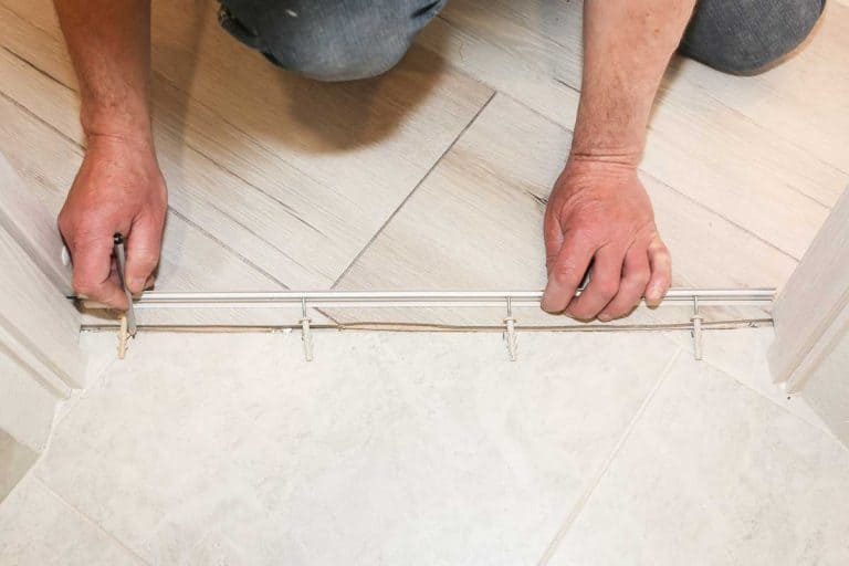 Installation of threshold indoors, How To Install Transition Strips On Concrete