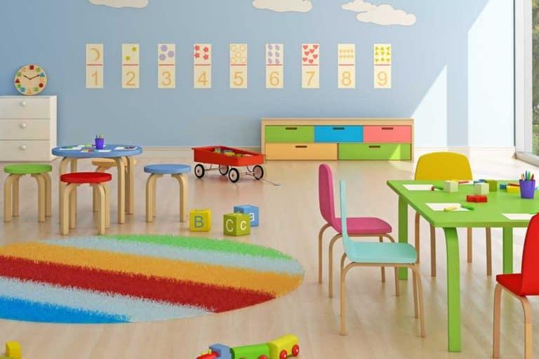 Nursery room interior, 15 Wall Decor Ideas For A Classroom